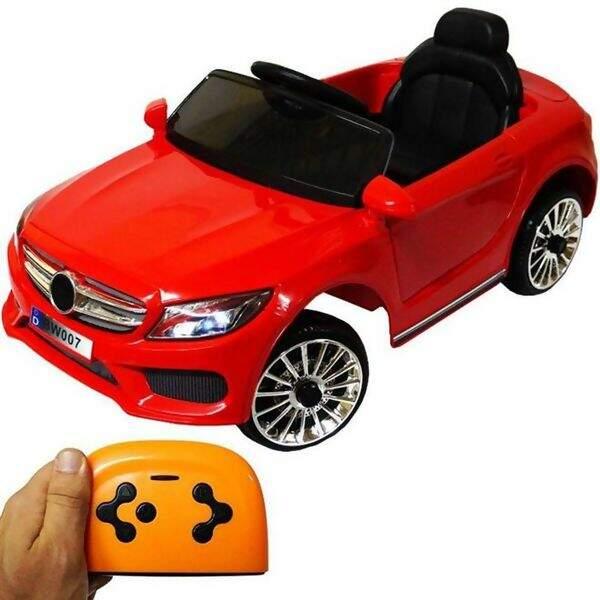 75a68d14f Mini Carro Elétrico BW007 Com Controle Remoto - Vermelho - Importway