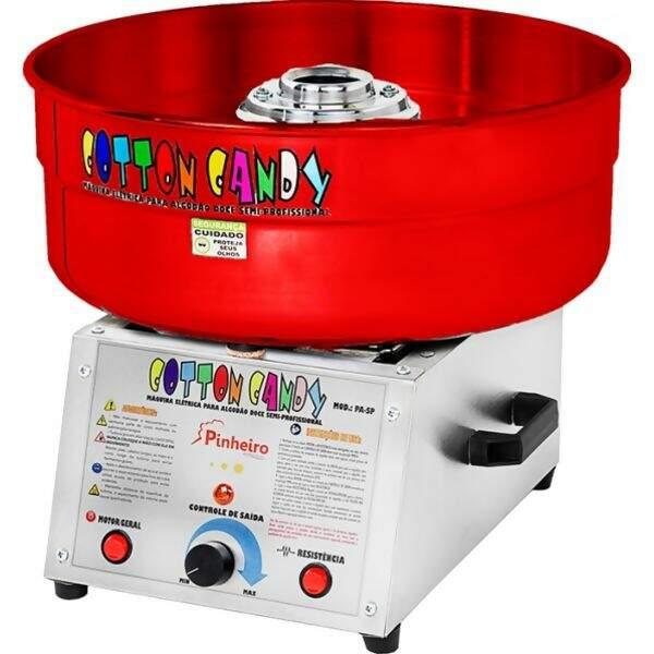 734705a4d Máquina de Algodão Doce Semi-Profissional Pinheiro - Bacia Vermelha