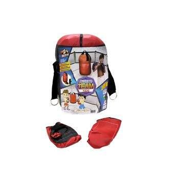 f772ca427 Saco Boxe Infantil Grande com Luvas - Riber Brink