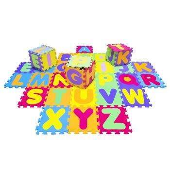 Tapete ABC 26 peças (7100)