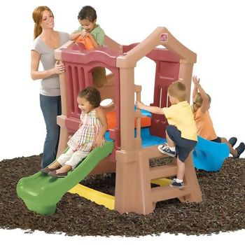 Play Up Duplo Escorregador com Escalada Step 2